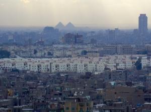Paisagem Urbana/Cairo às camadas