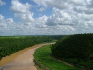 Paisagem Natural/Rio Chavon - República Dominicana