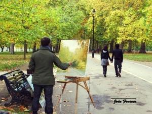Paisagem Natural/Arte no Hyde Park