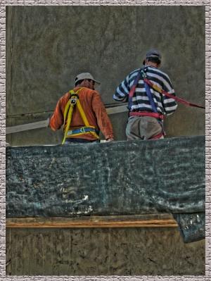 Gentes e Locais/Trabajo riesgoso en las alturas..1