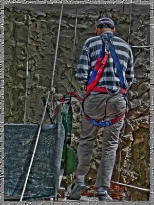Gentes e Locais/trabajo riesgoso en las alturas...2