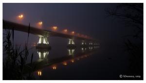 Paisagem Urbana/Ponte da Lezíria - Névoa