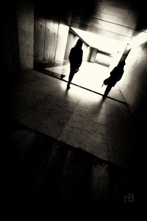 Paisagem Urbana/O quadrado de luz .