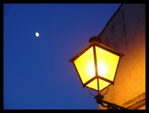 Outros/under the moon, by the lamp