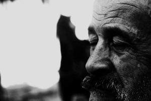 Retratos/Quando um homem chora