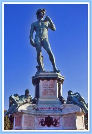 História/DAVID de Miguel Ângelo