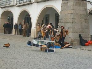 Outros/Músicos actuando na praça