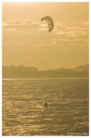 Desporto e Ação/Praia do Baleal - Kitesurf
