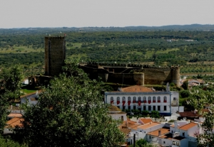 Paisagem Urbana/Vista de Portel...