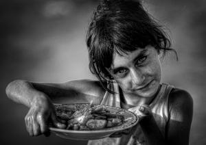 Fotojornalismo/Gipsy girl portrait