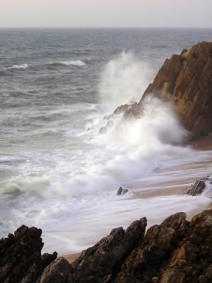 Paisagem Natural/A Força do Mar...