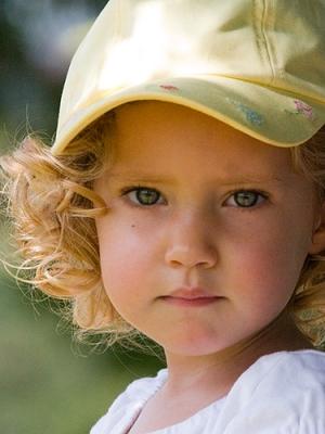 Retratos/Uma linda menina