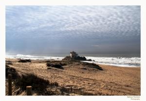 Paisagem Natural/Um céu coberto por tufos de algodão...