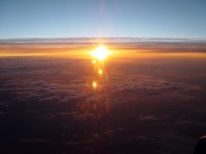 Paisagem Natural/Do céu para o sol