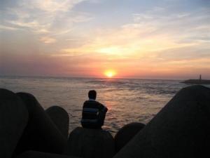 /Eu e o por do sol