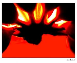 Outros/Bananas e sombras em vermelho