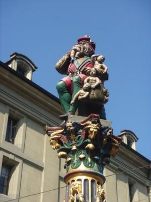 Paisagem Urbana/Berna - Suiça - Comedor de Criancinhas