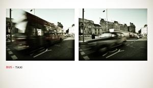 Paisagem Urbana/Bus x Taxi