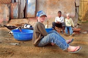 """Fotojornalismo/Os meninos da """"ba(c)ia azul"""""""