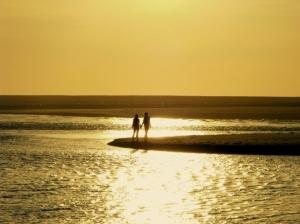 Paisagem Natural/Amor é dar as mãos e assistir ao Pôr do Sol ...