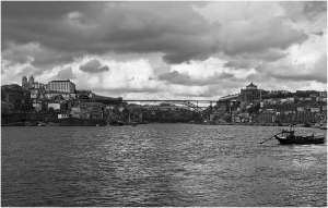 Paisagem Urbana/Porto P&B