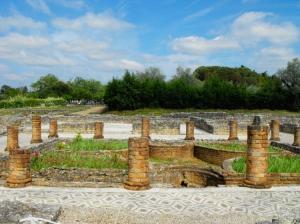 """História/""""Conímbriga"""" - Ruinas Romanas"""