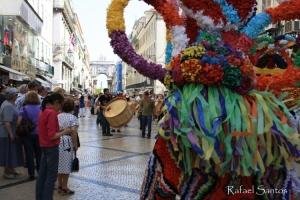 Espetáculos/Lisboa parou para ver o desfile
