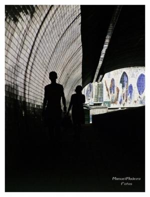 Gentes e Locais/Tunel da Ribeira-Porto