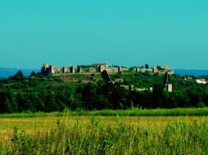 Paisagem Natural/O castelo e os campos do mandego