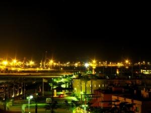 Paisagem Urbana/Praia da Rocha à noite