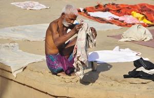 /Sur les ghats de Varanasi