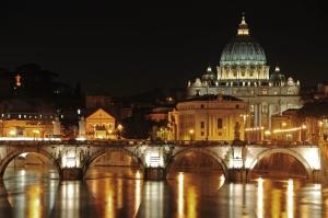 Paisagem Urbana/San Pietro at night.....