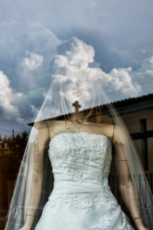 Moda/A noiva estava nas núvens