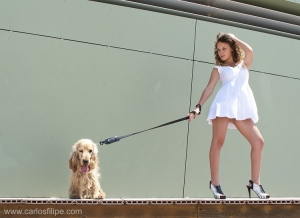 Moda/walk the dog!