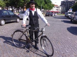 Desporto e Ação/dia da bicicleta antiga