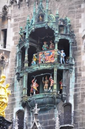 História/Glockenspiel - Munique