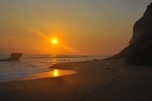 Paisagem Natural/O recolher do Sol Angolano