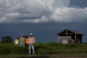 Retratos/Cowboys em tempos de chuva