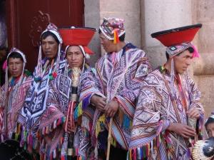 Gentes e Locais/Festa em Pisac - Peru