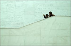 Gentes e Locais/No museu...