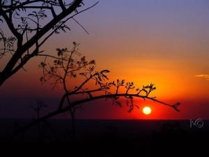 /mais um pôr do sol em Brasilia