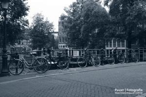 Paisagem Urbana/Fila bikeana | Amsterdam