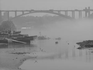 Paisagem Urbana/Neblina foz do Douro