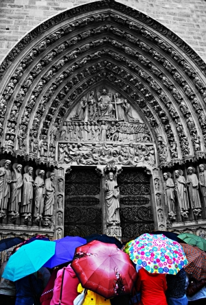 /Umbrellas meeting