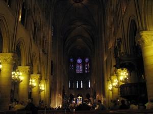 Paisagem Urbana/Igreja de Notre Dame, Paris