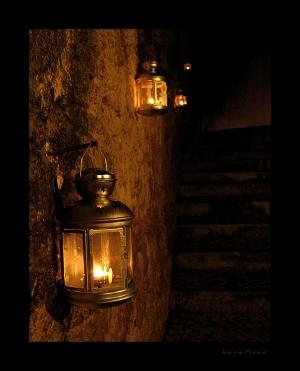 /Luzes do caminho
