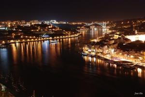 Paisagem Natural/noite no rio