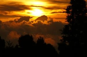 Paisagem Natural/Montanhas de nuvens