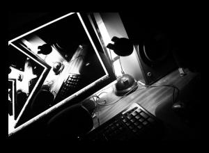 Abstrato/Noite