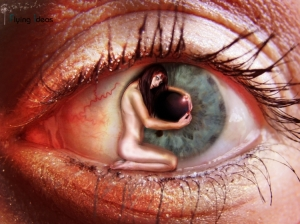 Arte Digital/A menina do olho